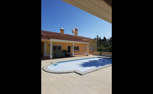 Outdoor, in ground swimming pool